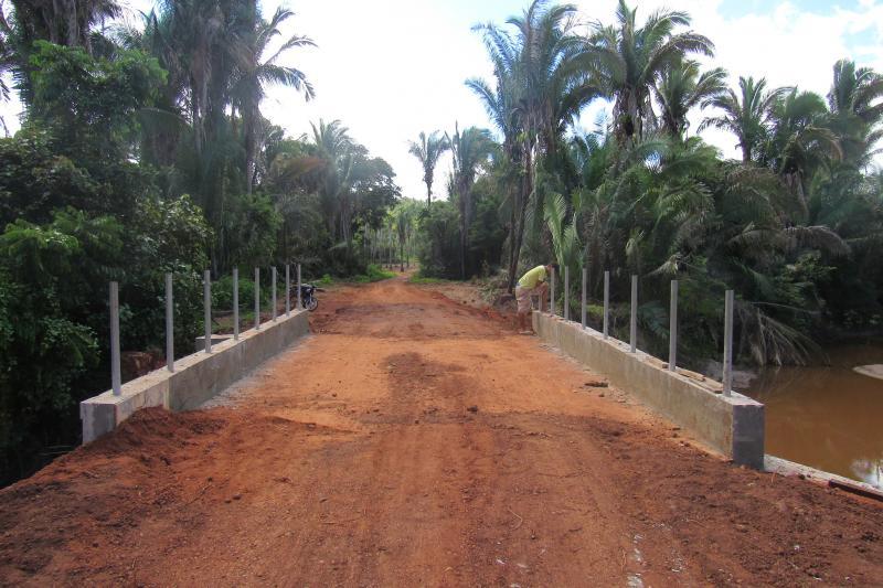 Ponte da Caiçara, divisa de São João do Arraial e Matias Olímpio, já está concluída