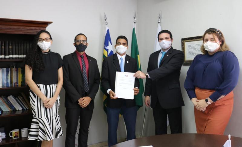Advogado Felipe Soares Lima toma posse como Secretário Adjunto da Comissão OAB