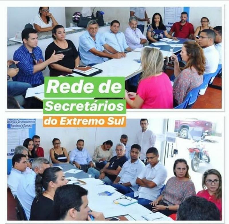 Secretário de Finanças e Administração de Cristino Castro participa de capacitação em Bom Jesus