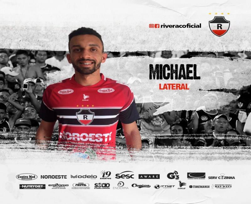 River-PI anuncia reforço do lateral-esquerdo Michael