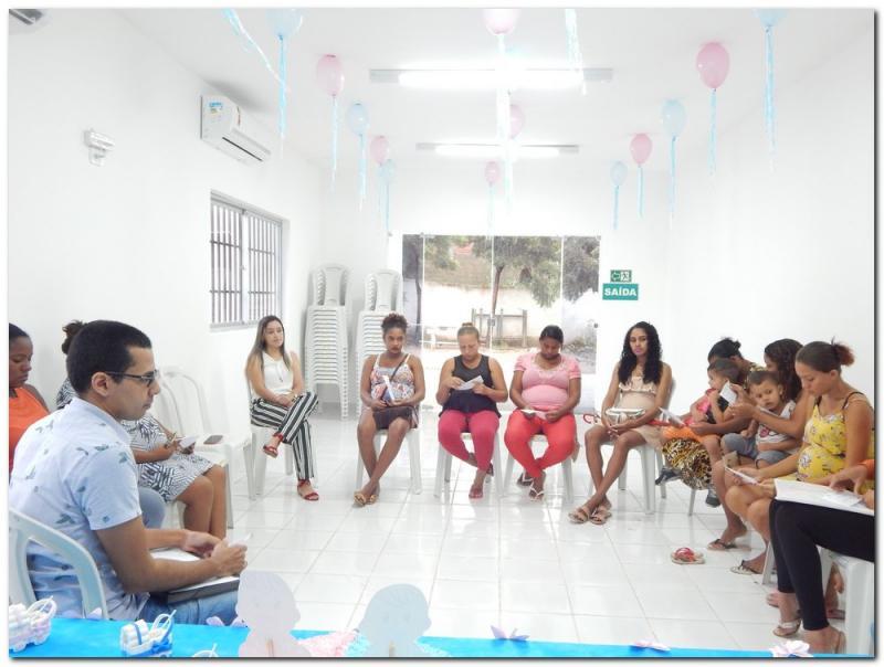 Reunião com Grupo de Gestantes