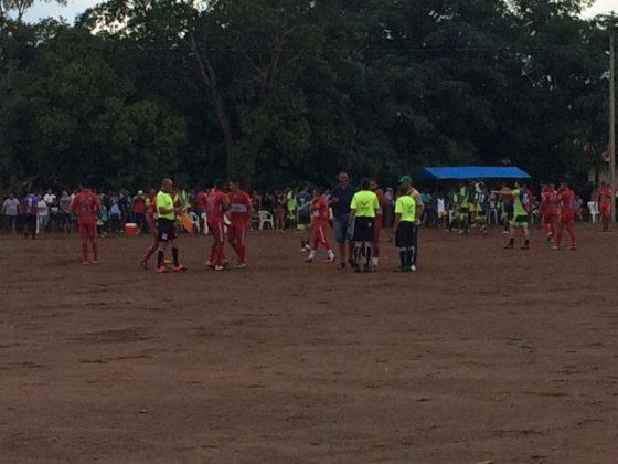 Teve início o Campeonato de futebol no povoado Bom Principio em Tanque do PI