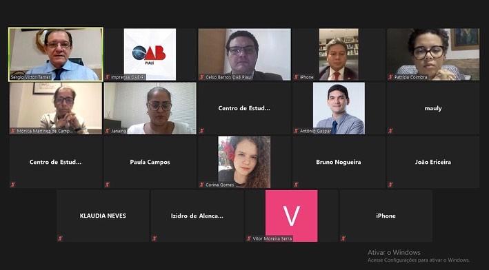 Qualificação em Portugal: OAB-PI participa de lançamento da 8ª turma de Mestrado