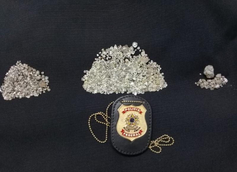 PF cumpre mandato de prisão no PI contra exploração ilegal de diamantes