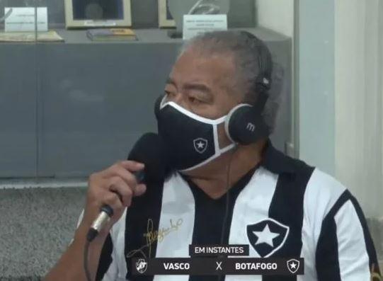 Jairzinho faz comentário machista sobre bandeirinha: 'Vai lavar roupa'