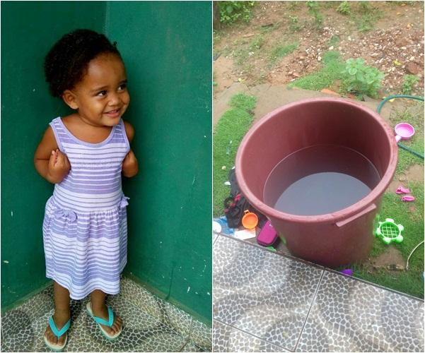Criança de 2 anos morre afogada em balde de água no interior do Piauí