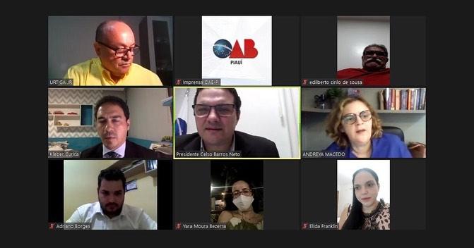 'OAB nas Subseções' reúne diretorias da OAB Piauí e Subseção de Picos