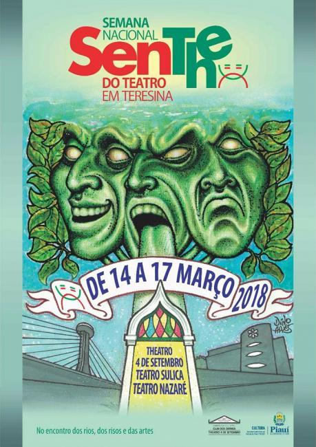 Começa hoje a SenThe - Semana Nacional de Teatro de Teresina