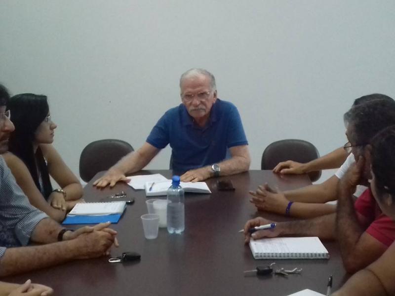 Secr Dr. Evandro Aragão realiza reunião sobre a III Feira da Agricultura Familiar de Demerval Lobão