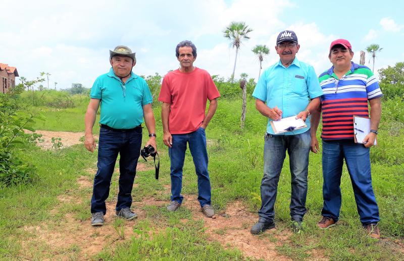 Técnicos da ADH fazem Vistorias em Conjunto Habitacional de Joaquim Pires