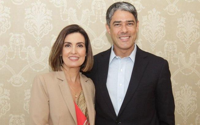 Perfil no Facebook anuncia volta de Fátima Bernardes e William Bonner