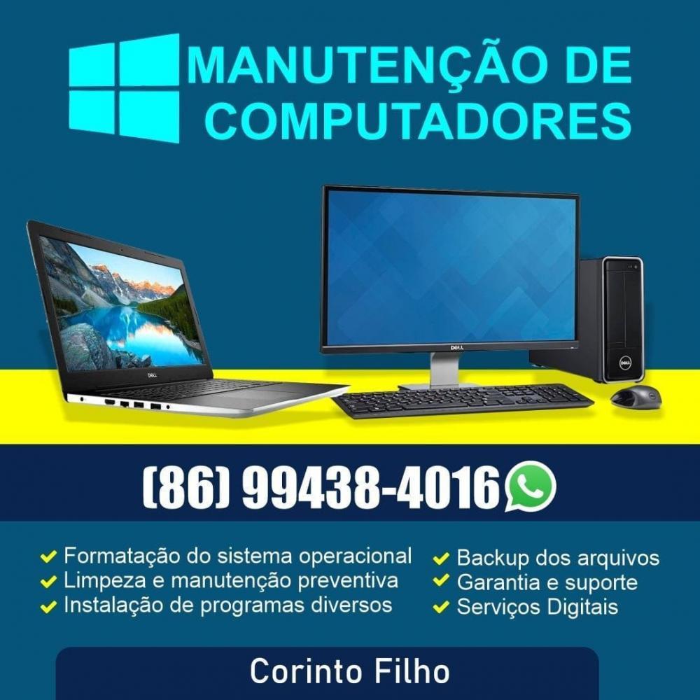 Imagem: Divulgação/Corinto Manutenção de Computadores