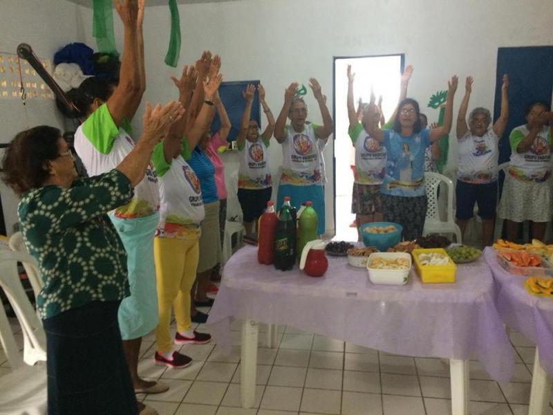 Secretaria de Assistência Social de Francisco Ayres realiza Festa da Partilha