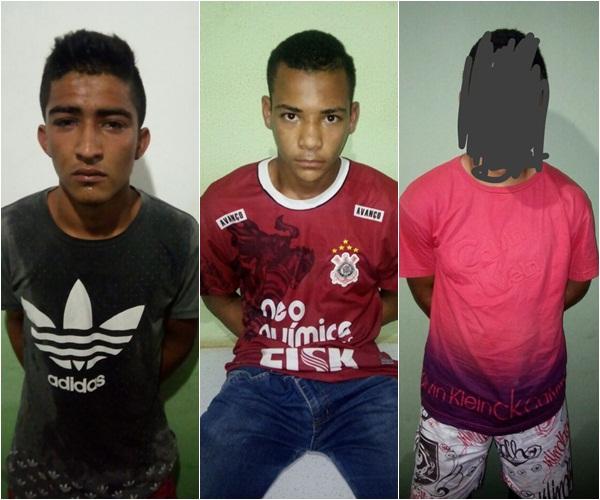 Acusados de roubar posto de combustível no Piauí são presos