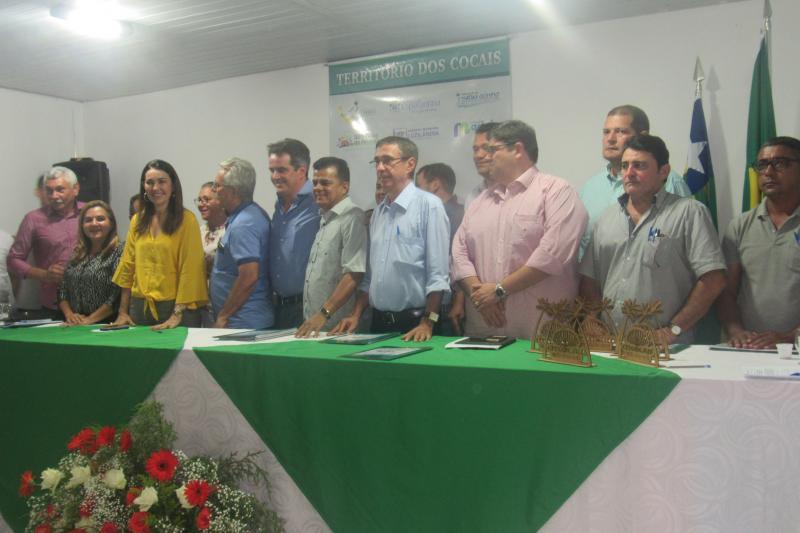 Prefeita Vilma Lima participou do encontro do CITCocais, na cidade de Porto