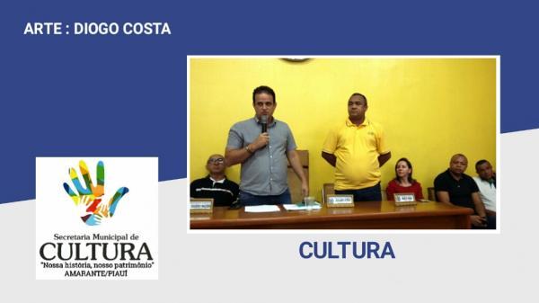Cultura sediou na manhã de hoje(16) palestra que visa implantação do Sistema Municipal de Cultura