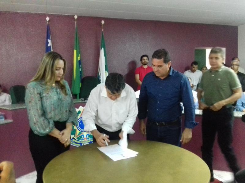 Demerval Lobão: governador autoriza obras de mobilidade urbana, segurança e saúde; veja