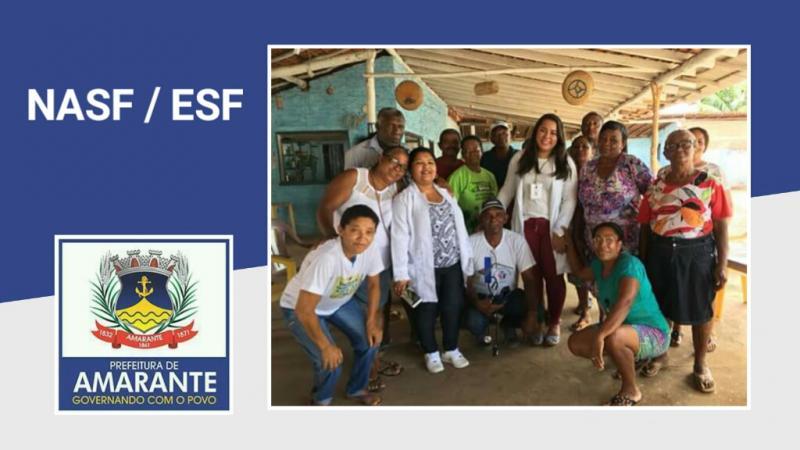 NASF e ESF realizam palestra no Saco da Cachoeira