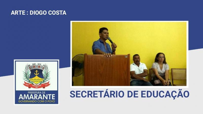 Secretário de Educação explica processo de nucleação de escolas em Amarante