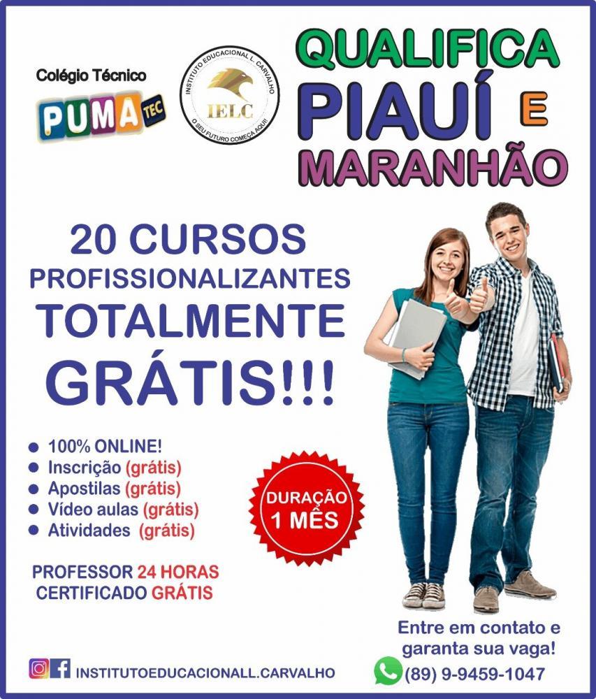Projeto qualifica Piauí e Maranhão