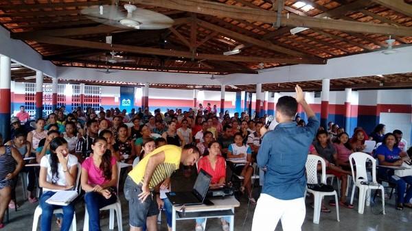 Concurseiros se reúne nas escolas para o último dia de preparatório do Concurso de Agricolândia