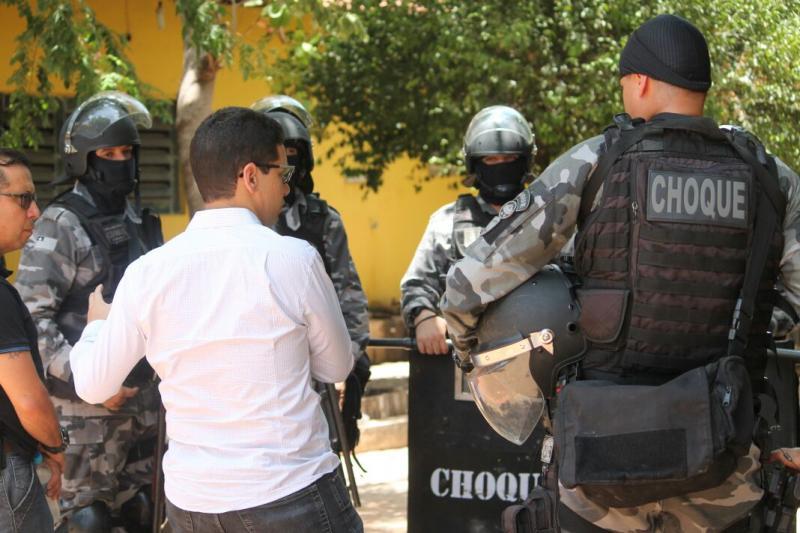 Segurança envia reforço para o município de Esperantina