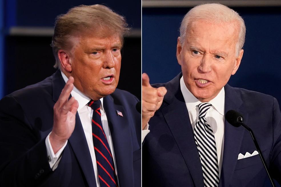 O candidato democrata está menos desafiado