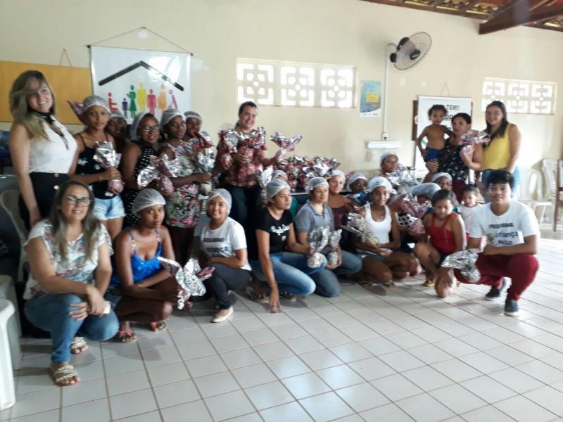 SEMAS realiza curso de oficina e confecção de ovos de páscoa em Landri Sales