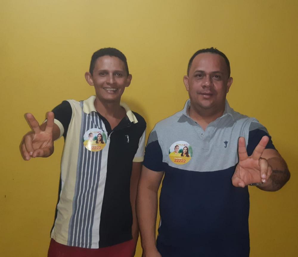 A adesão de Seginho do Espeto(a esquerda) fortalece a caminhada de Edson Capiau e Dinair