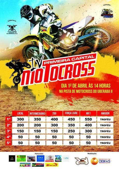 IV Motocross Primeira Capital reunirá mais de 80 pilotos em Oeiras