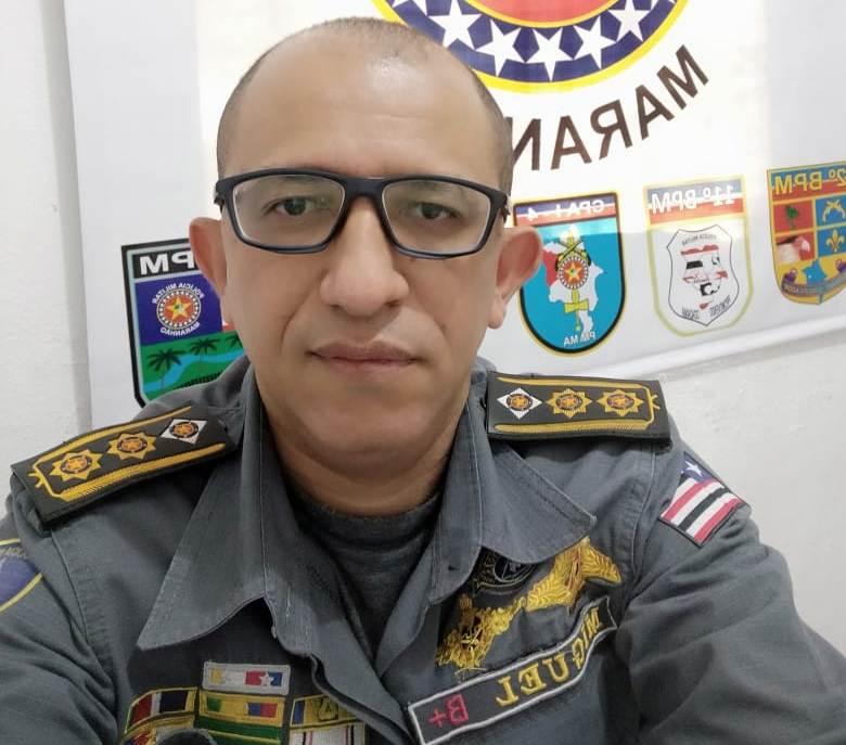 O Tenente-Coronel Miguel comandará o 19º BPM-MA sediado em Pedreiras