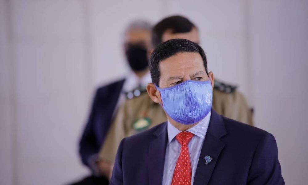 Vice-presidente Hamilton Mourão Foto: ROMERIO CUNHA / Agência O Globo