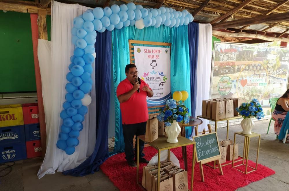 ASSEPUMU realiza festa em homenagem aos servidores públicos