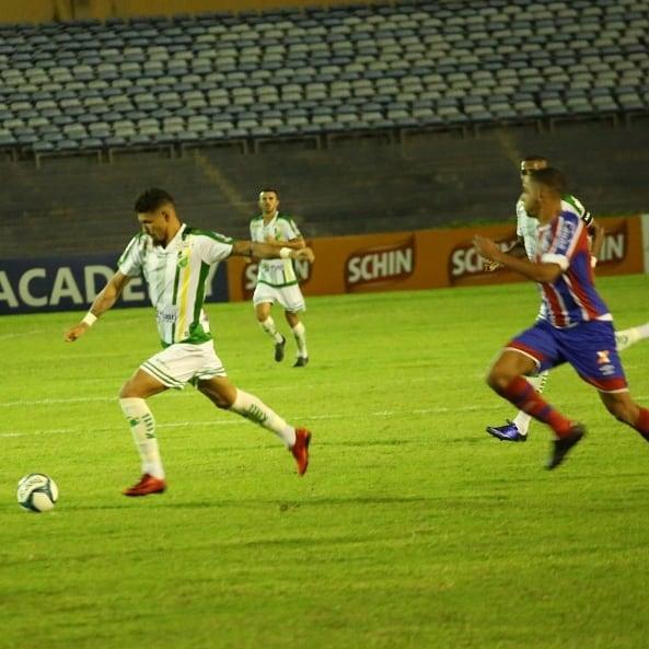 Altos perde para o Bahia e é eliminado da Copa do Nordeste