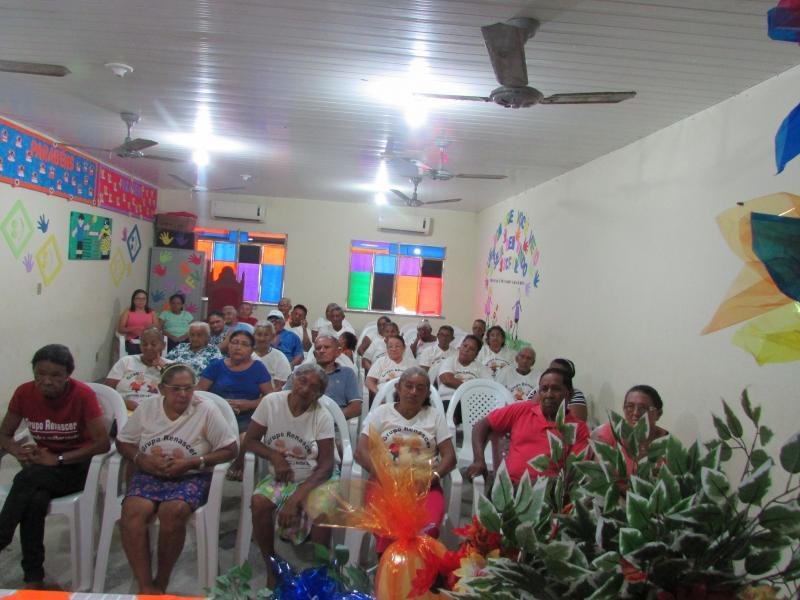 Cras  municipal de lagoinha do piauí realiza reunião do grupo de idosos renascer