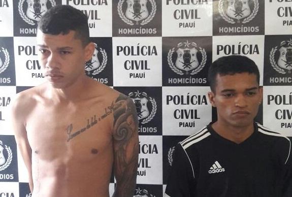 Acusados de homicídio são presos na zona sudeste de Teresina