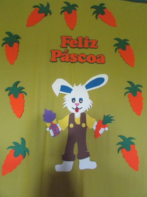 CRAS em parceria com os programas SCFV e PCF realiza festa da Páscoa para as crianças do municipio
