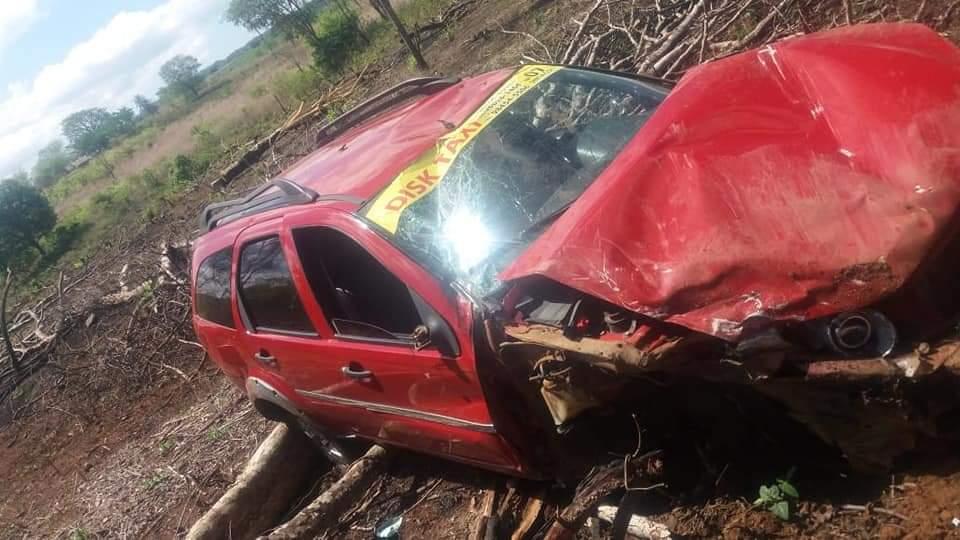 Homem fica ferido em um acidente na zona rural de Paraibano