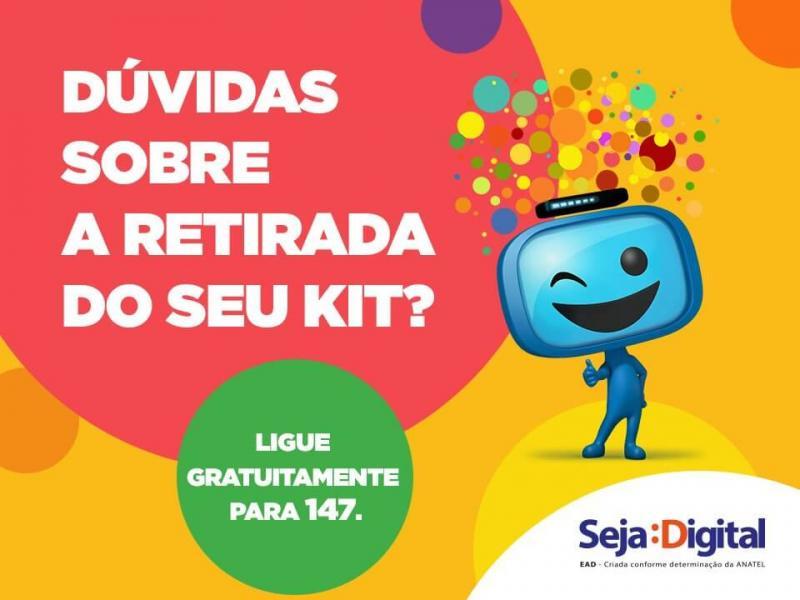 Seja Digital realiza mutirão de agendamento dos kits gratuitos nesta sexta-feira em Nazária