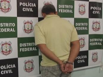 Avô é preso suspeito de estuprar neta de 6 anos de idade