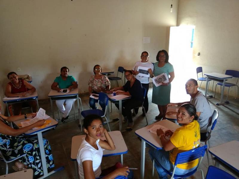 Escola Municipal João Benício promove dia D da Base Nacional Comum curricular