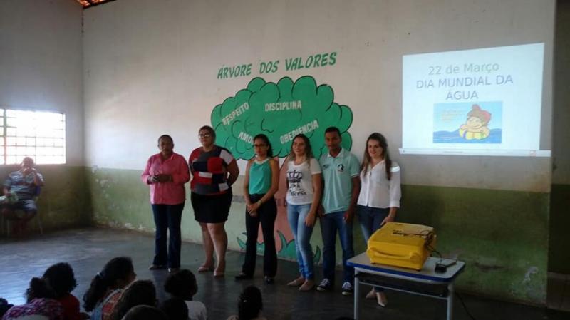 No dia Mundial da Água SEMMAR promove palestras nas escolas municipais