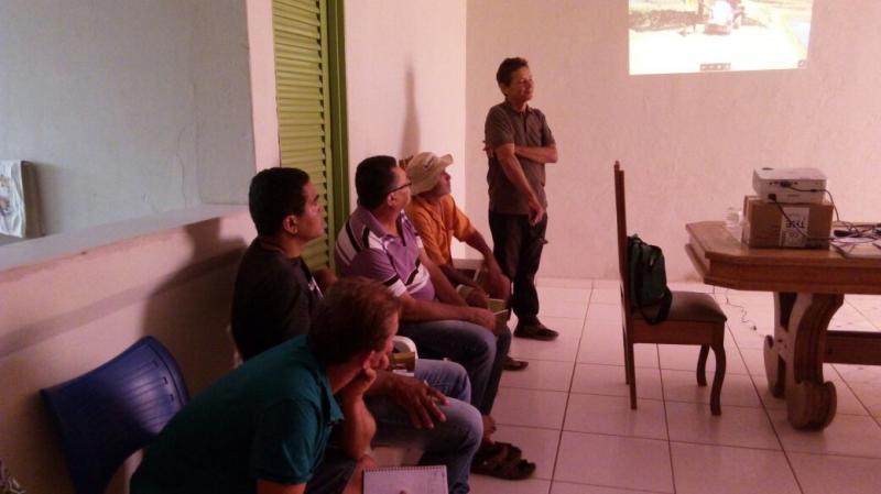 Curso de piscicultura em Colônia do Gurguéia-PI