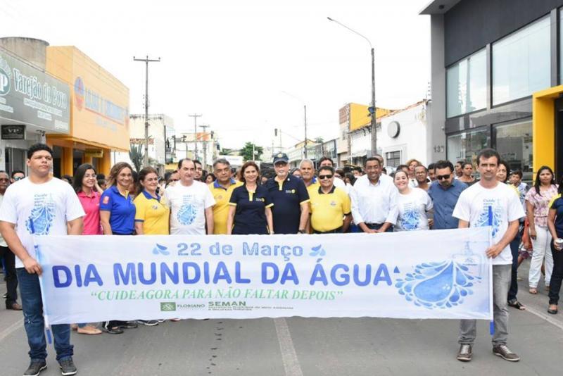 Caminhada marca Dia Mundial da Água em Floriano