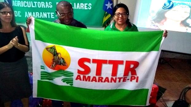Presidente do STR Luíza Neta Rodrigues, faz homenagem às mulheres  de Amarante
