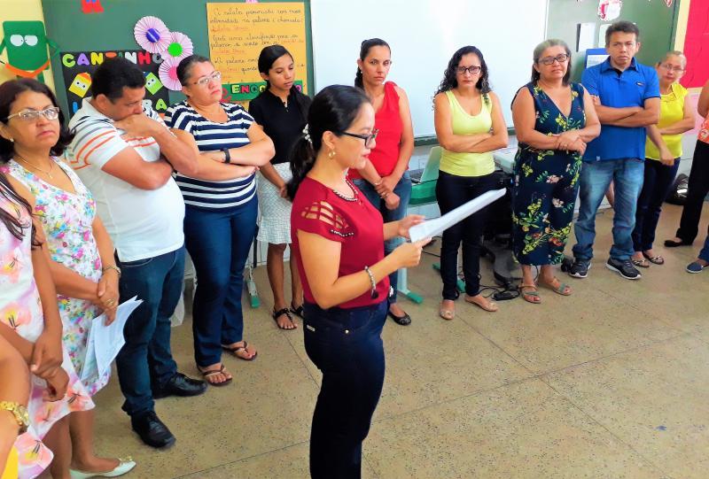 Secretaria Municipal de Educação de Joaquim Pires realiza II Formação do PNAIC 2017/2018.