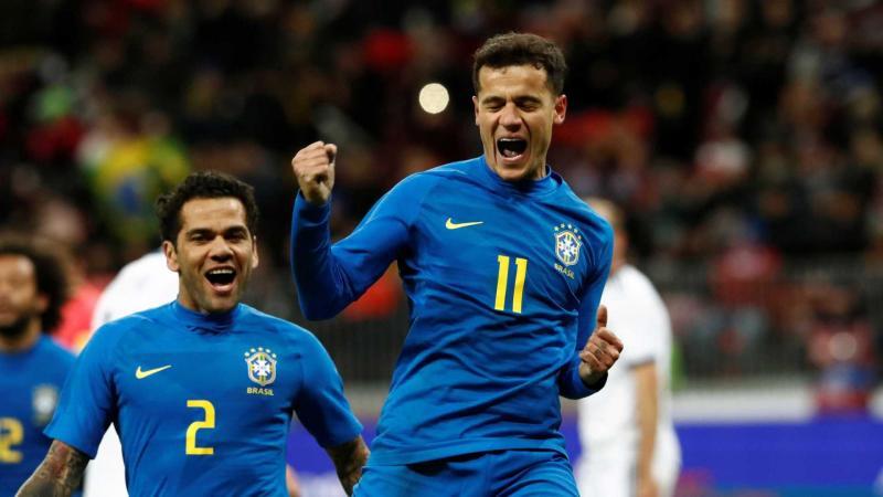 Brasil vence a Rússia no palco da final da Copa do Mundo