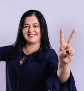 Com 52,39% dos votos Carmen Gean se reelegeu em Brasileira