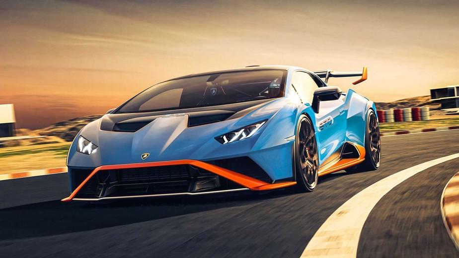Lamborghini Huracán ganha tapete especial para ficar mais leve