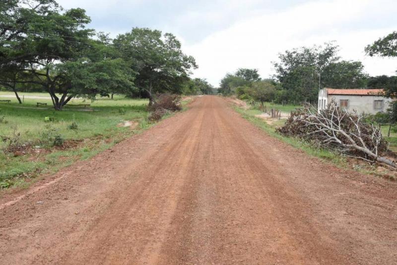 Obras da recuperação da estrada do Amolar seguem aceleradas